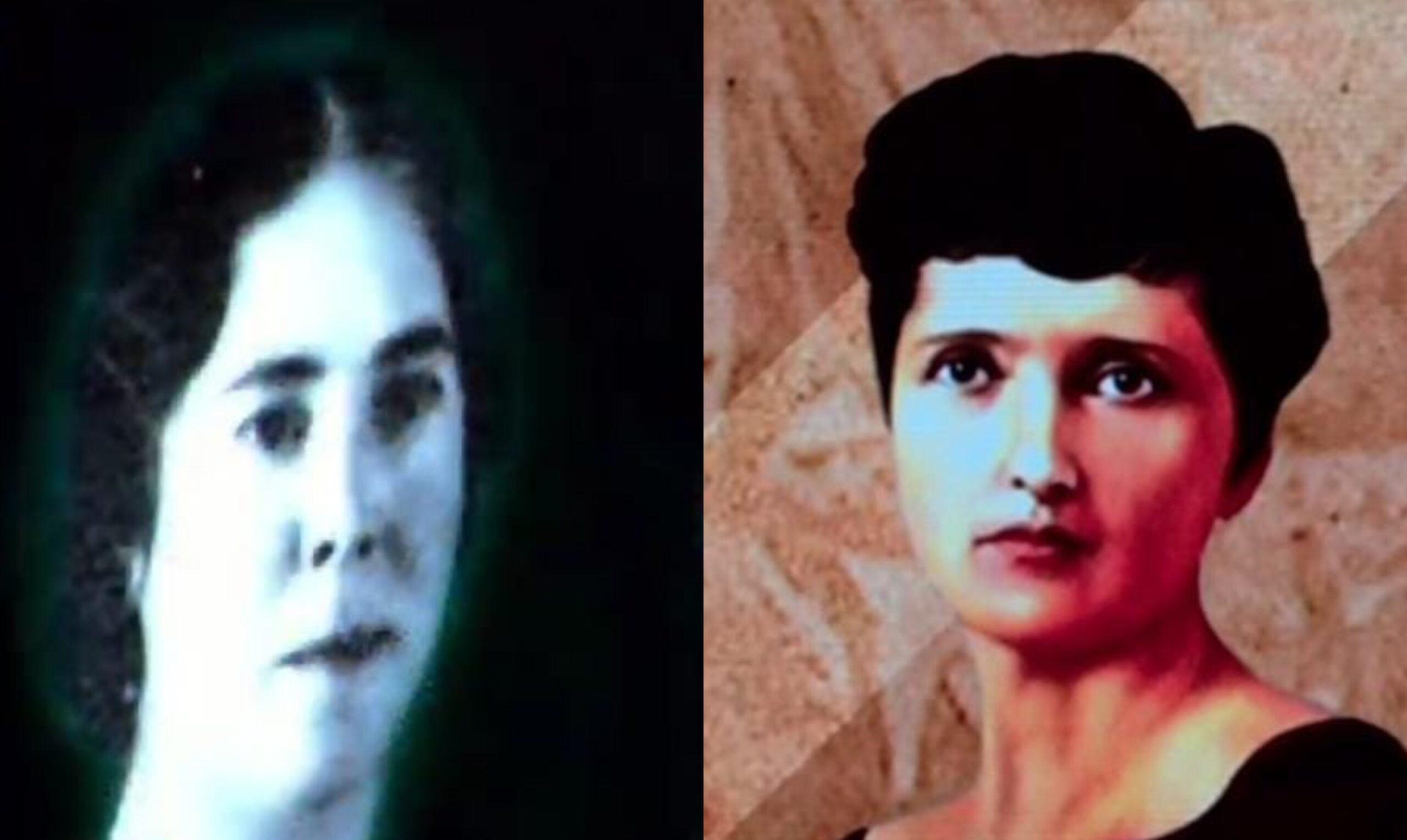 Hermila Galindo y Elvia Carrillo Puerto