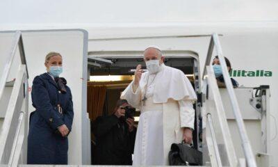Papa reanuda viajes; visita Iraq por primera vez