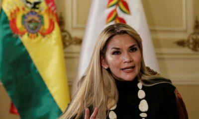 Fiscalía de Bolivia emite orden de arresto contra Jeanine Áñez