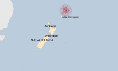 Registra Nueva Zelanda tres terremotos, activan alerta de tsunami
