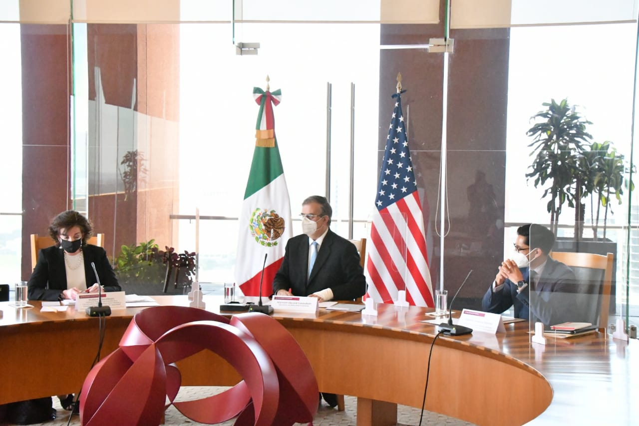 México y EU avanzan en lograr una migración ordenada: Ebrard