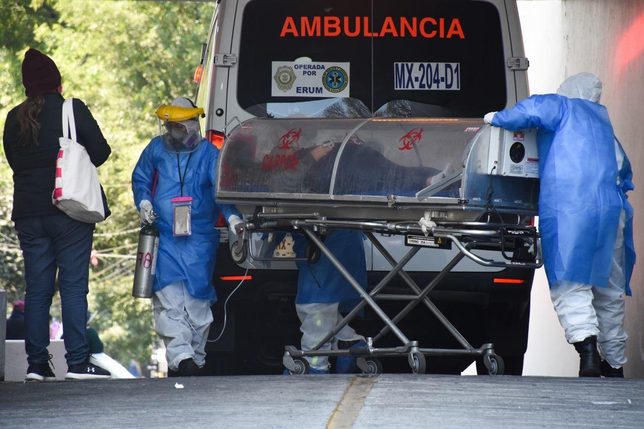 Secretaría de Salud reporta 190,604 defunciones por Covid-19