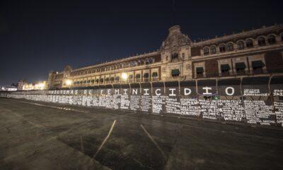Vuelven 'muro de paz' en antimonumento a víctimas de feminicidio