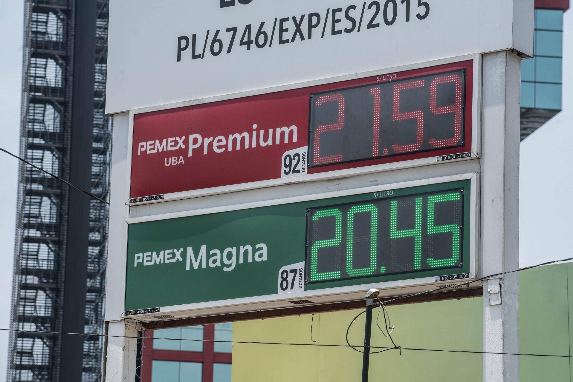 Asegura gobierno que los precios de gasolinas, diésel y electricidad no han aumentado