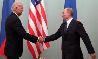 Biden y Putin proyectan cumbre en junio