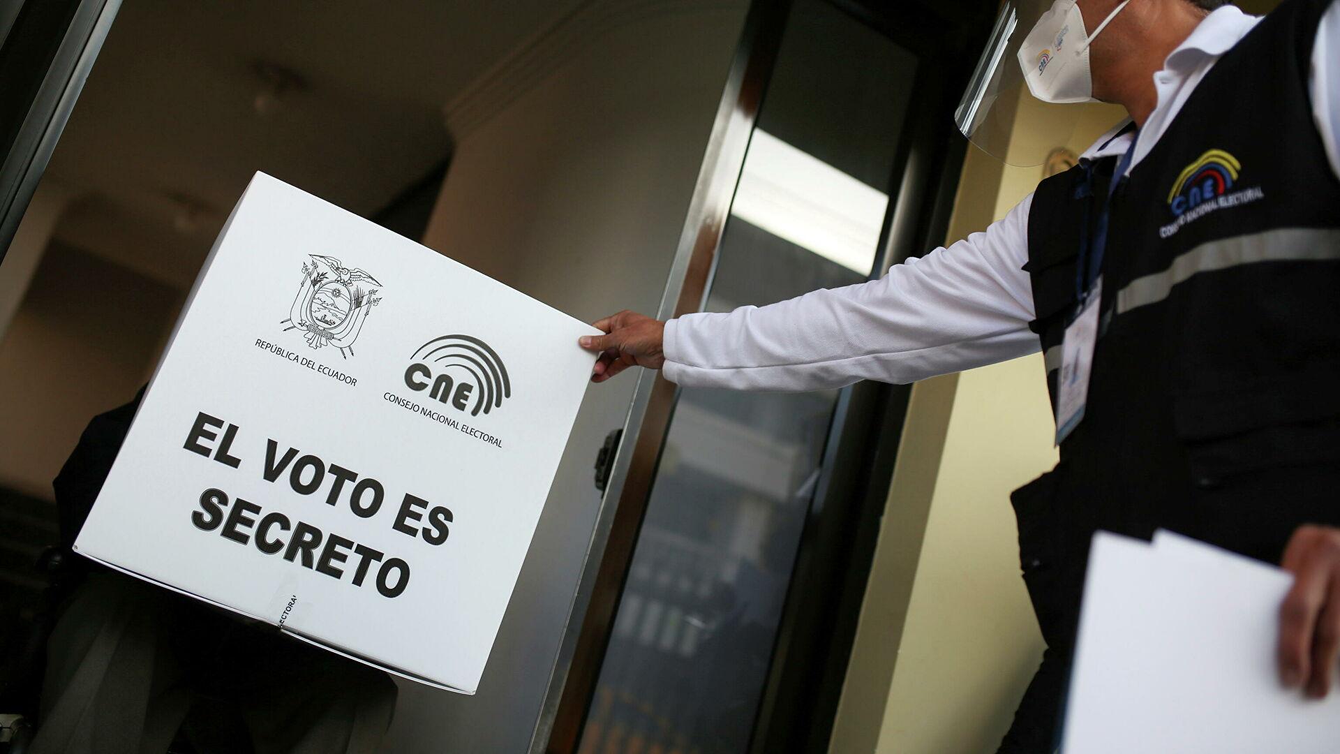 Vive Ecuador segunda vuelta electoral; eligen presidente y vicepresidente
