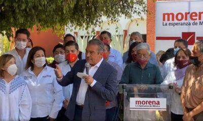 Impugna Morón ante el IEM retiro de su candidatura en Michoacán