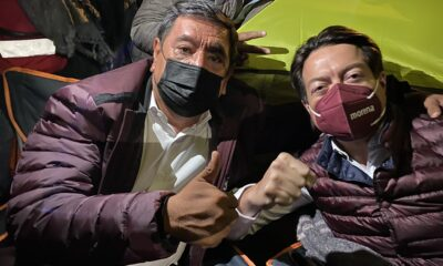 "Si no soy candidato, INE se ""va a caer"", advierte Félix Salgado"