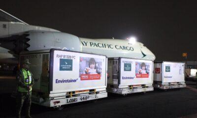 Llegan a Mexico 500 mil vacunas anticovid de Sinovac