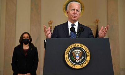 Ofrecen Biden y Harris mensaje tras veredicto del caso George Floyd