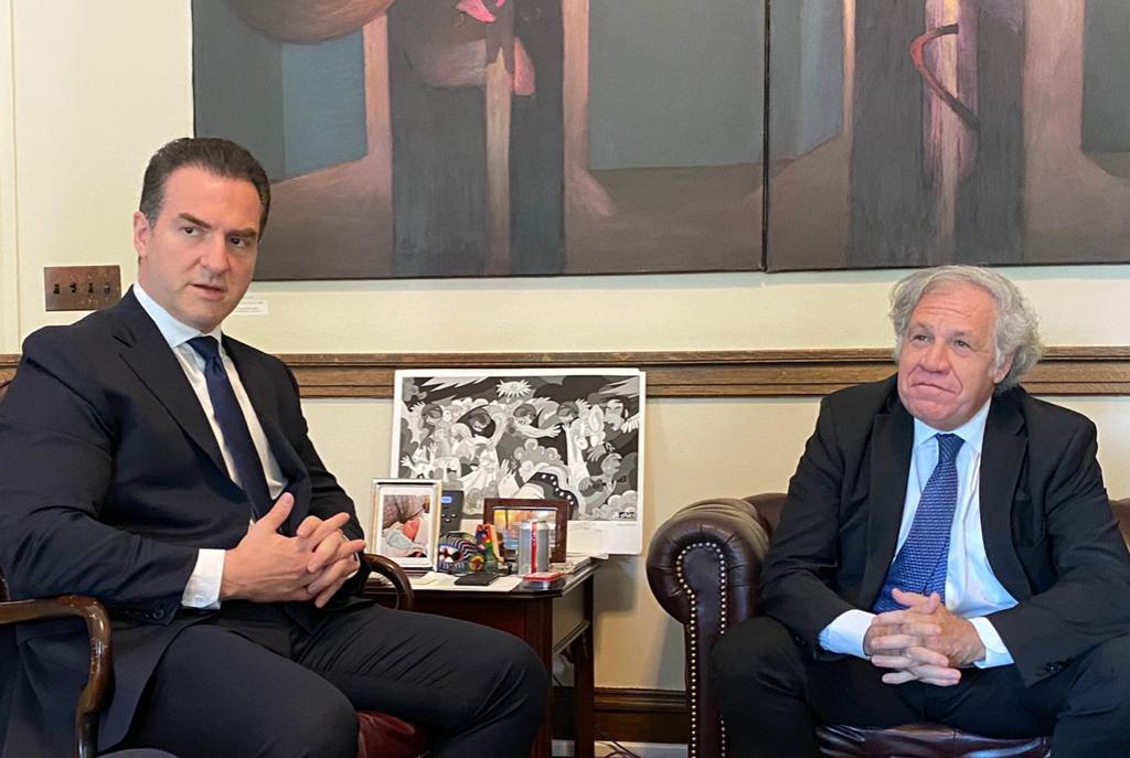 Acude De la Garza a la OEA para denunciar intromisión del gobierno en elecciones