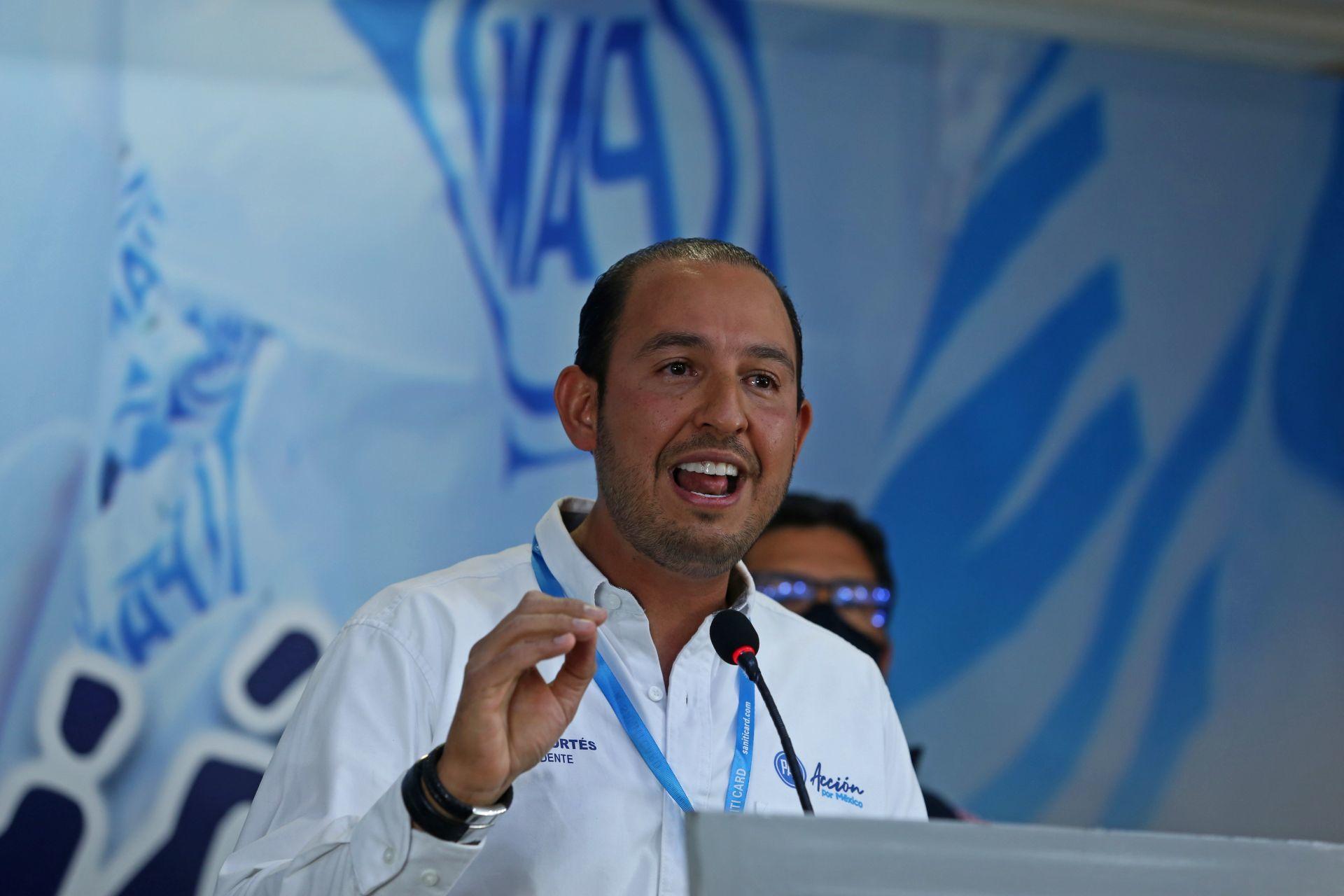 Asegura Marko Cortés que mexicanos esperan el triunfo del PAN