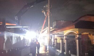 Reestablece CFE electricidad en estados afectados por lluvias