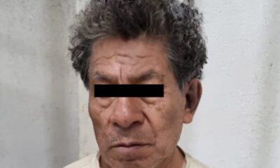 Detienen a presunto feminicida de 72 años en Edomex