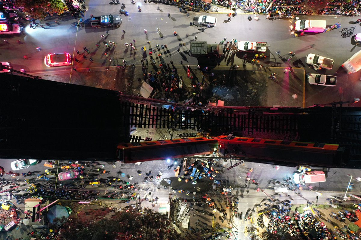 13 muertos y 70 heridos en accidente en Línea 12, reporta Protección Civil