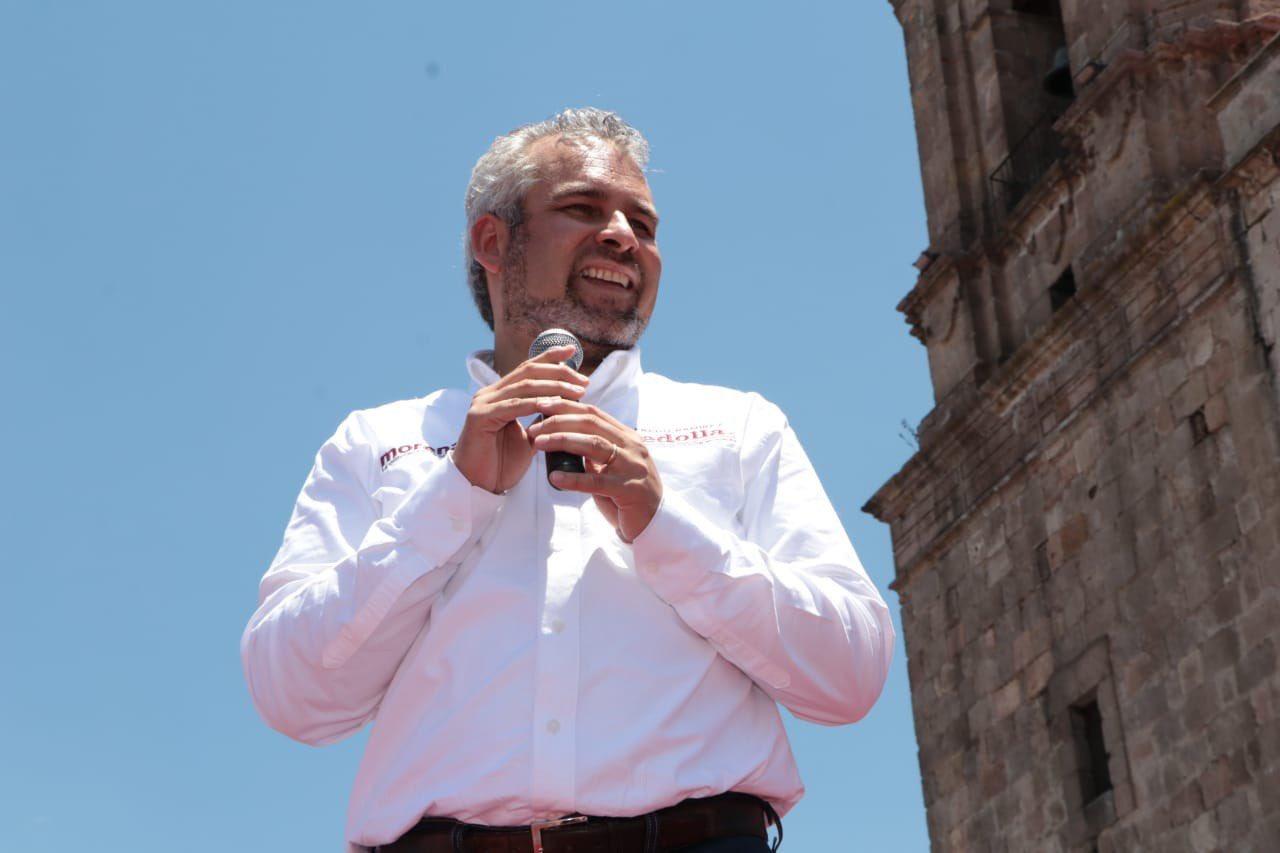Arranca campaña el morenista Ramírez Bedolla en Michoacán