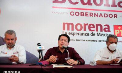 """Denunciará Morena a Silvano Aureoles por """"intimidación cobarde"""""""