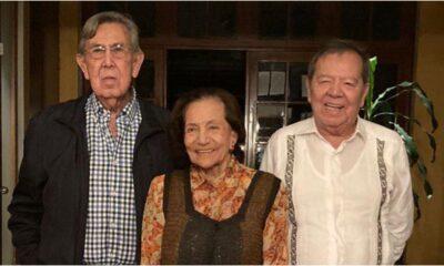 Se reúnen Muñoz Ledo, Ifigenia Martínez y Cárdenas para hablar de problemas del país