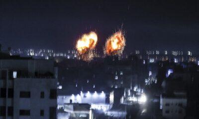 Reportan nuevo ataque de Israel, bombardea la Franja de Gaza