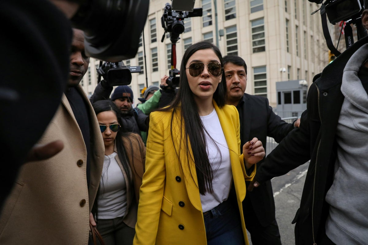 Emma Coronel se declara culpable de narcotráfico y lavado de dinero