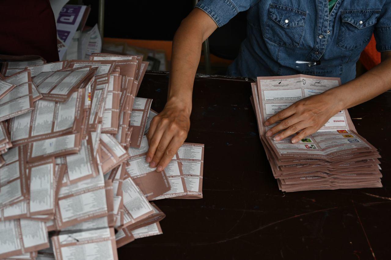 Finaliza INE cómputos distritales de las elecciones del 6 de junio