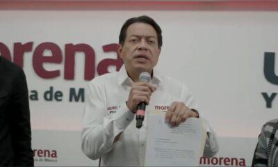 Presenta Mario Delgado denuncia por intimidación en Tamaulipas