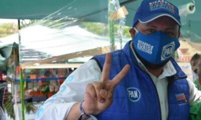 Manifestantes cierran calles en demanda de bajar la candidatura del panista Ricardo Rubio