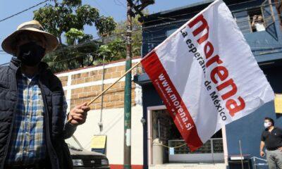 ¿Y dónde está el líder de Morena en la CDMX?