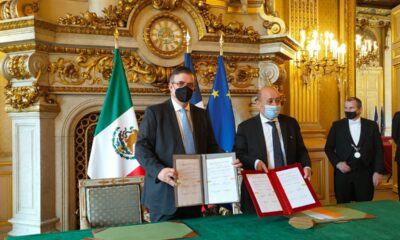 Firman México y Francia acuerdo para combatir tráfico ilícito de bienes culturales