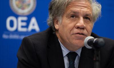 Da Luis Almagro, secretario general de la OEA, positivo a Covid