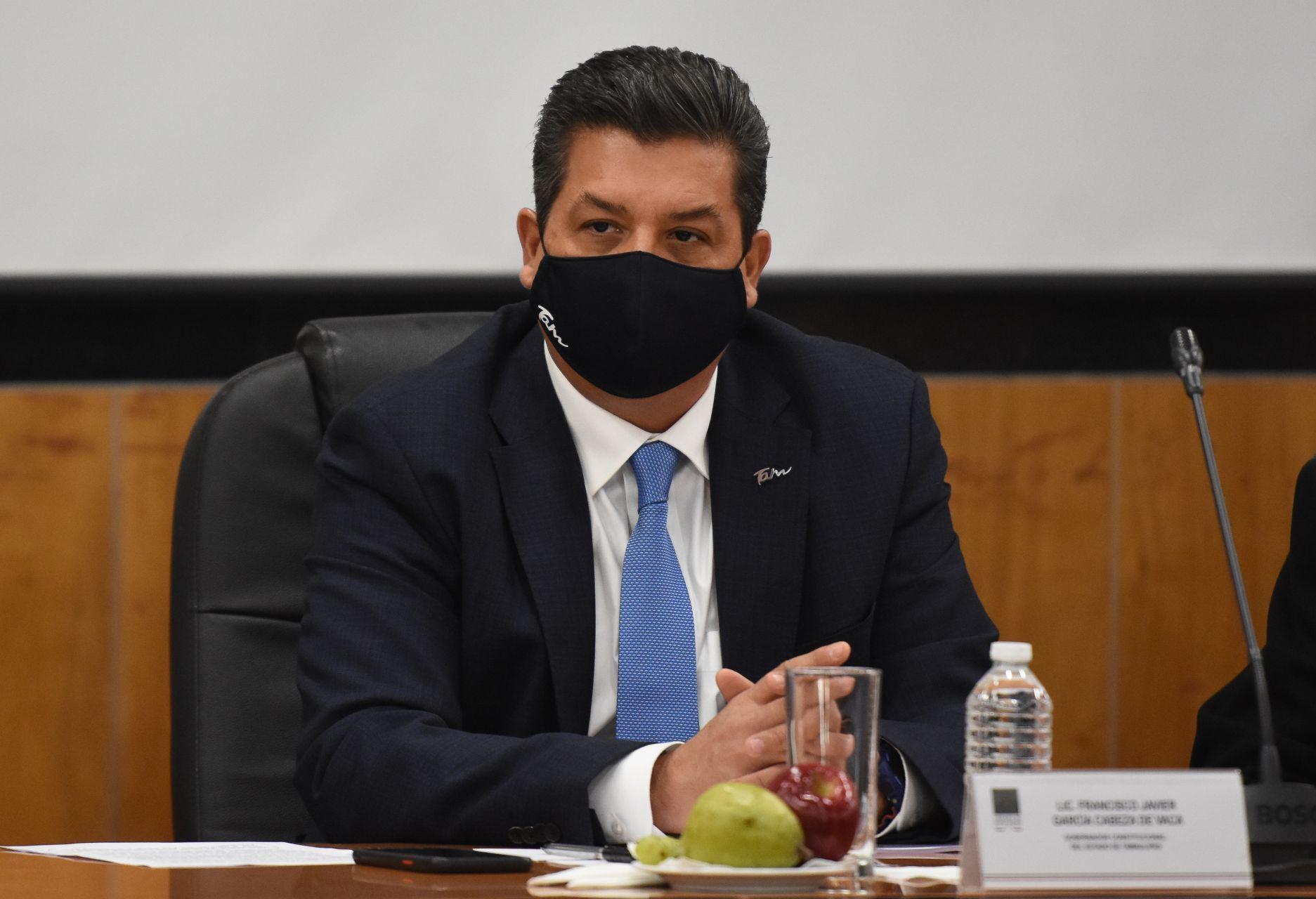 """Rechaza Corte suspender """"blindaje"""" a García Cabeza de Vaca en Tamaulipas"""