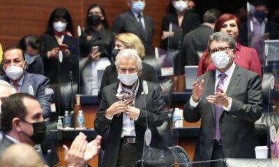 Sánchez Cordero rinde protesta para presidir Mesa Directiva del Senado