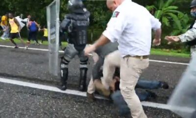 Suspende INM a agentes por agresión a migrantes