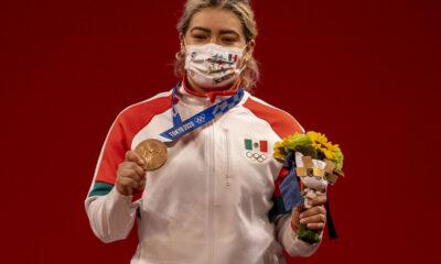 Logra México tercera medalla de bronce en Juegos Olímpicos de Tokio