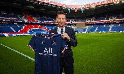 Firma Messi con el PSG, portará el número 30