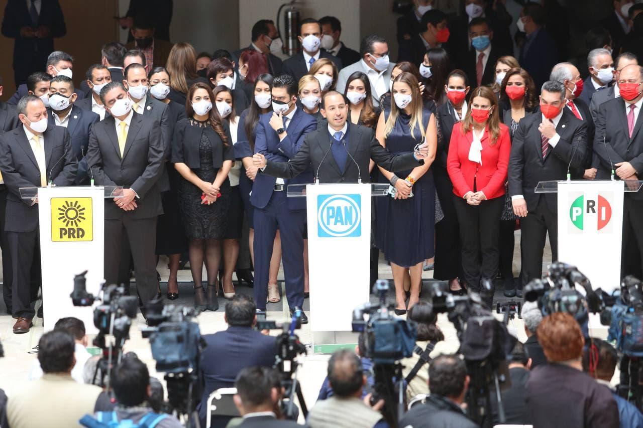 PAN, PRI y PRD denunciarán ante la OEA atentados a la democracia del 6 de junio