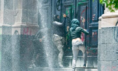 Rechaza Congreso de Edomex haber atacado a manifestantes