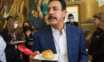 Internan a Omar Fayad por cuadro de salmonela