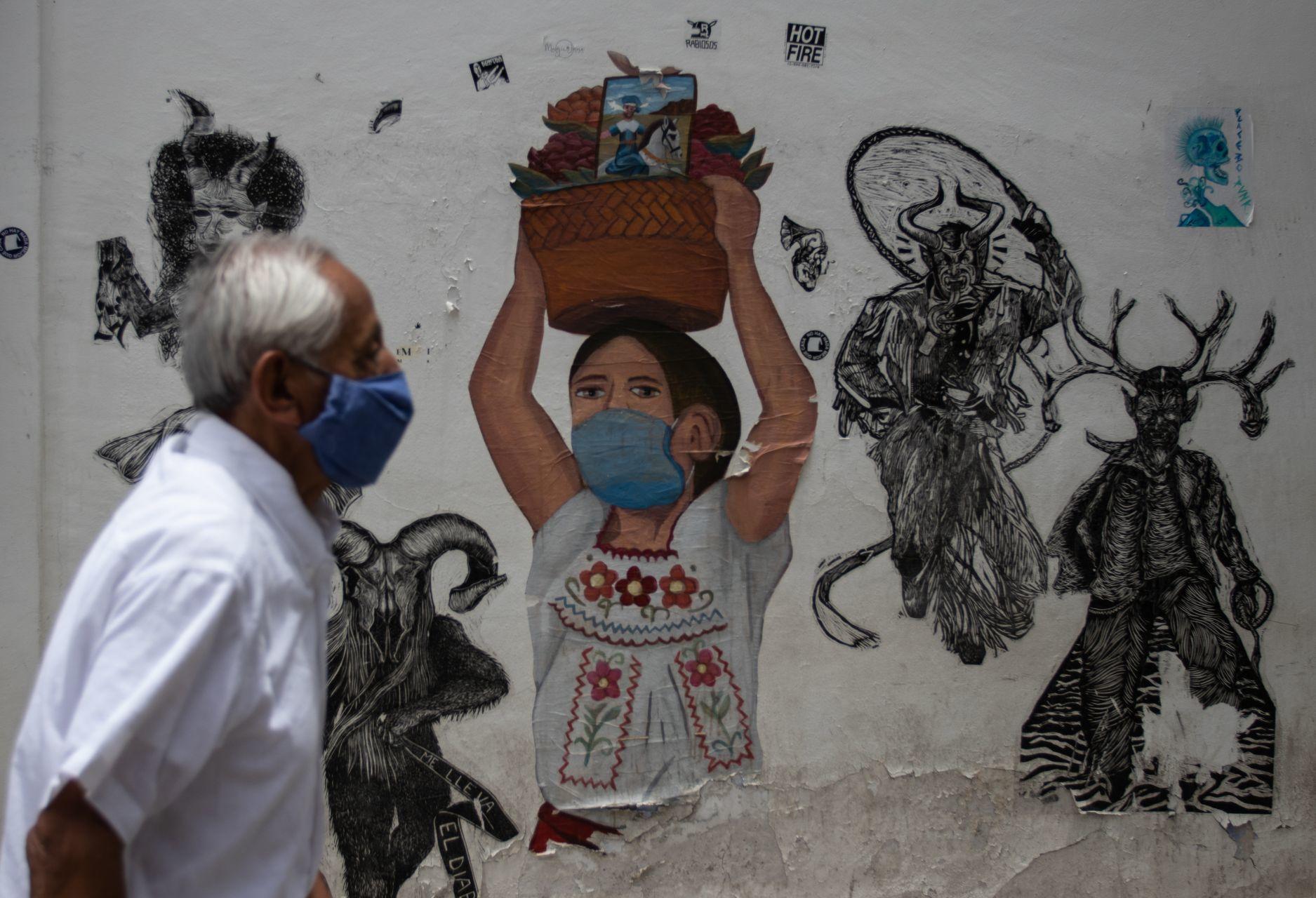 Reportan contagio comunitario de Covid-19 en localidad de Oaxaca