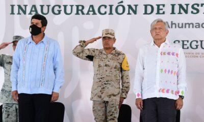 """Reconoce AMLO gobierno """"honesto"""" del panista Javier Corral"""
