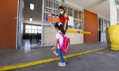 Regresan a clases presenciales 91 mil estudiantes en Coahuila