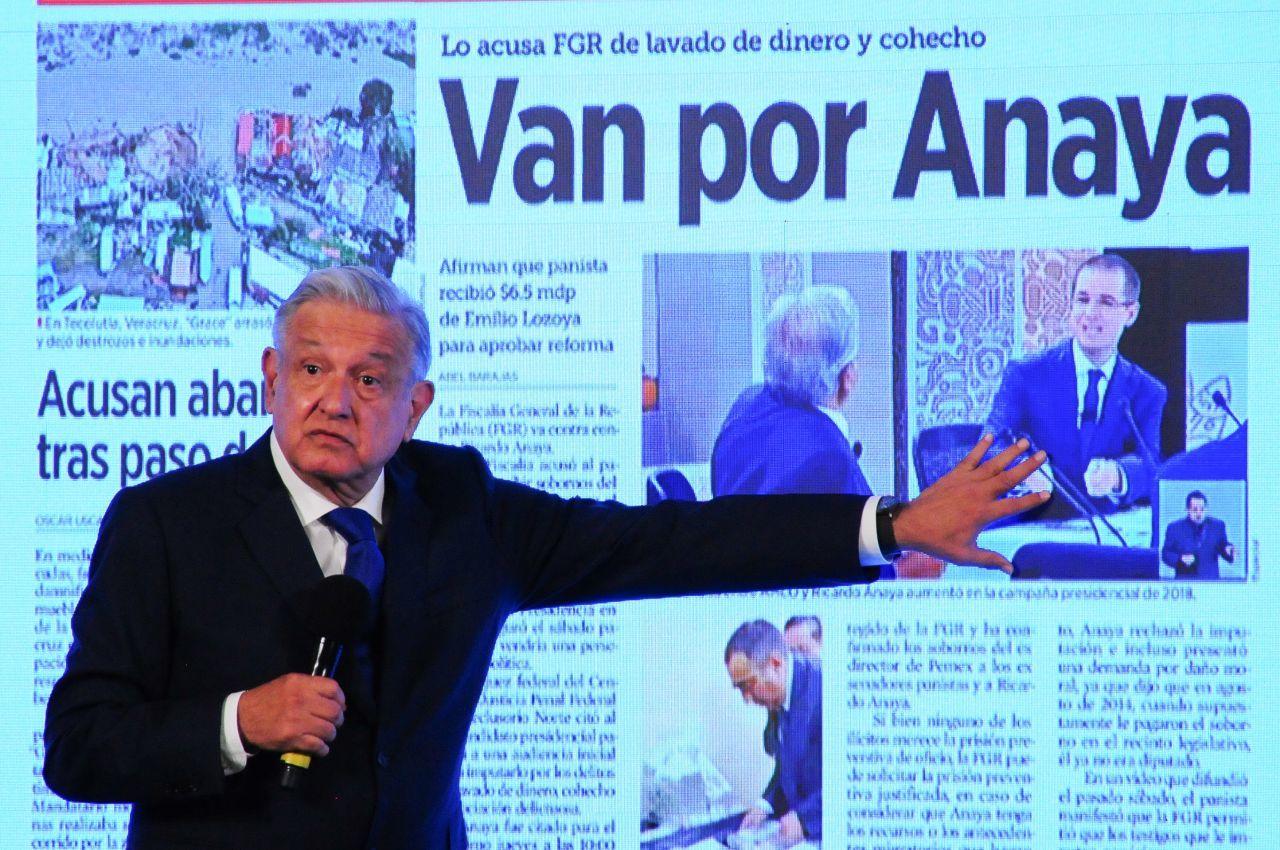 Anaya, alumno de 'La Ardilla' Fernández de Cevallos: AMLO