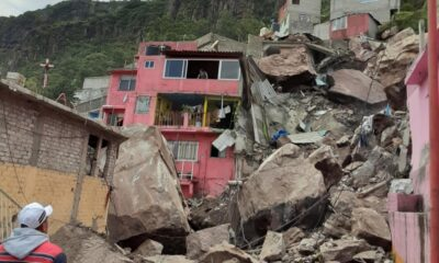 Se desgaja el Cerro del Chiquihuite; hay 4 personas desparecidas