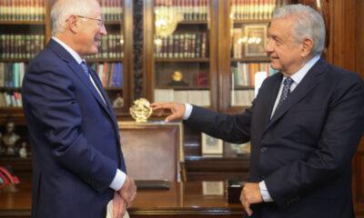 Ofrece embajador Ken Salazar nueva relación entre México y EU