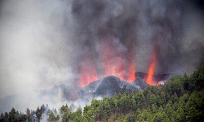 Erupciona volcán de La Palma en España