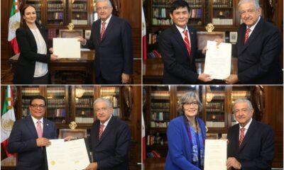 Se reúne AMLO con embajadores de 10 países; somos amigos de los pueblos, dice
