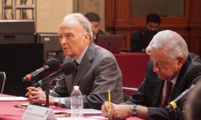 AMLO se reúne con Gertz Manero en Palacio Nacional