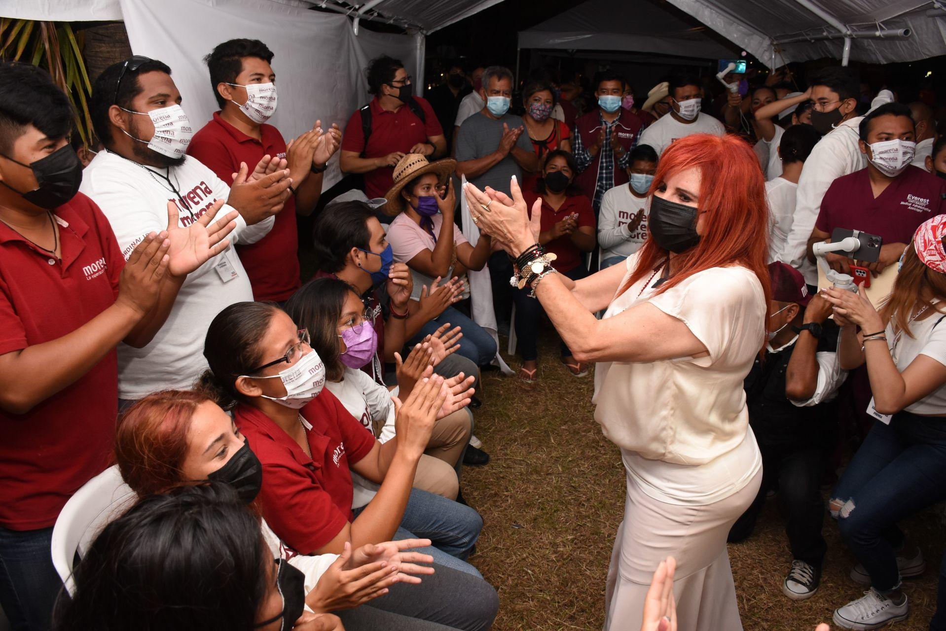 Propone magistrada refrendar la victoria a Layda Sansores en Campeche