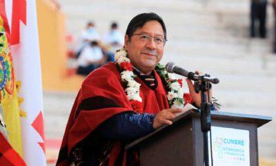 El ministro del interior de Bolivia denunció un intento de homicidio contra el presidente Luis Arce