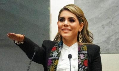 Evelyn Salgado toma protesta como la primera gobernadora del estado de Guerrero